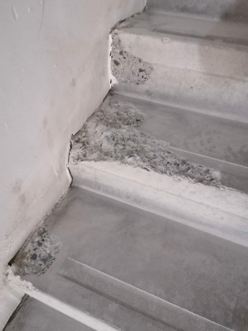 Cosmetisch betonherstel 3 - voor